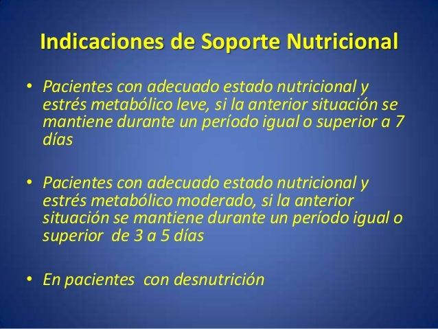 Terapia nutricional Dieta terapéutica Módulos Suplementos Nutrición Artificial NE y NPT