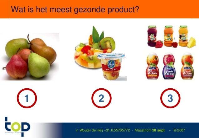 Wat is het meest gezonde product?   1                         2                                           3               ...