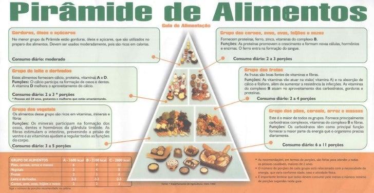 Nutrição  Piramide De  Alimentos
