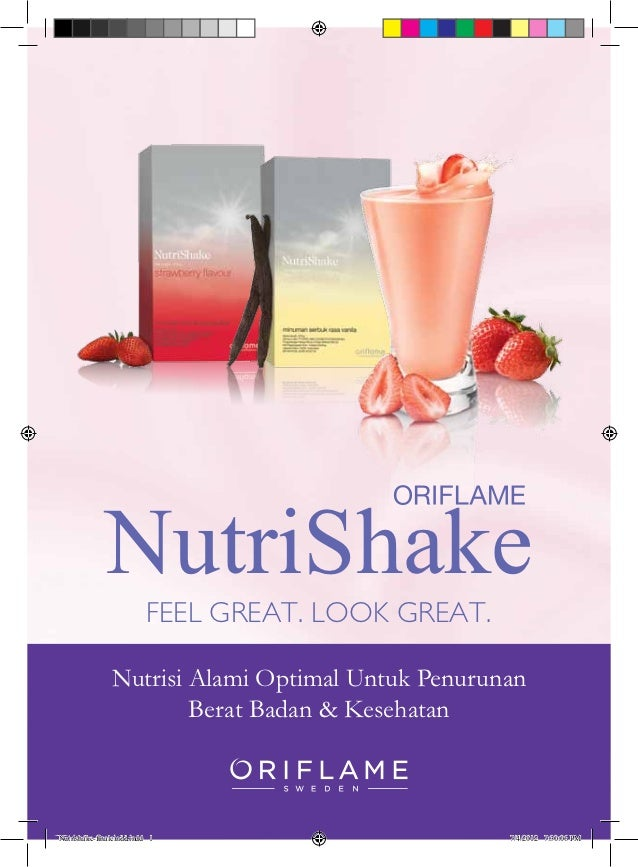 NutriShake                         FEEL	GREAT.	LOOK	GREAT.               Nutrisi Alami Optimal Untuk Penurunan            ...
