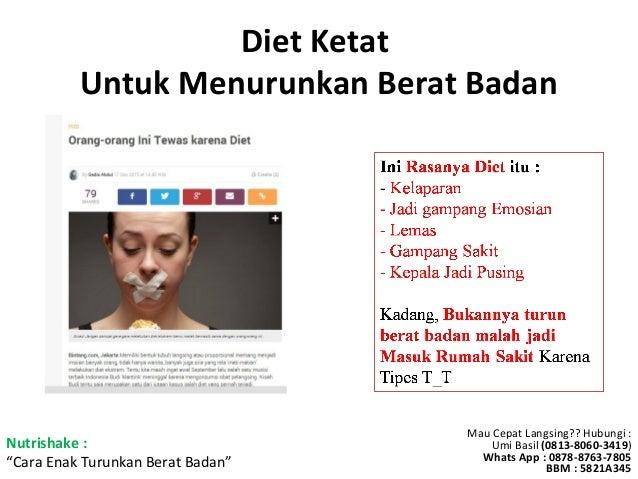 Rahasia Nutrishake Turun Berat Badan dengan Aman By Oriflame