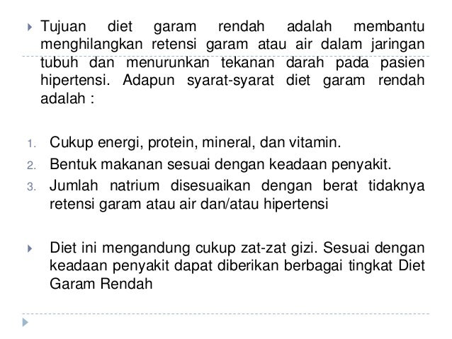 Tips Diet Rendah Garam untuk Hipertensi hingga Penyakit Jantung