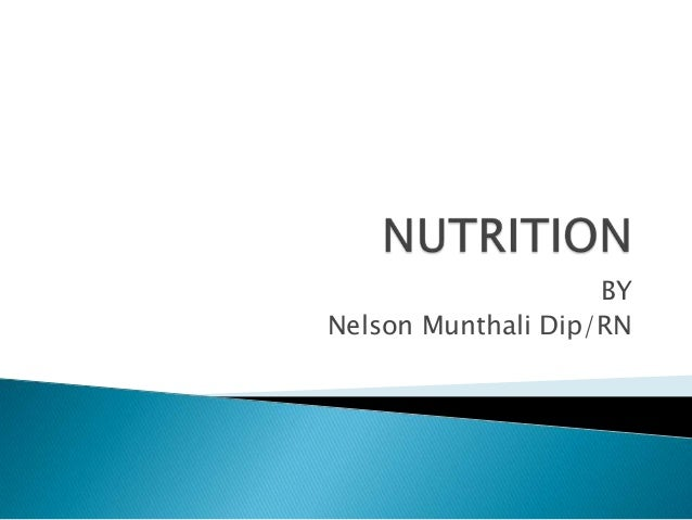 BYNelson Munthali Dip/RN