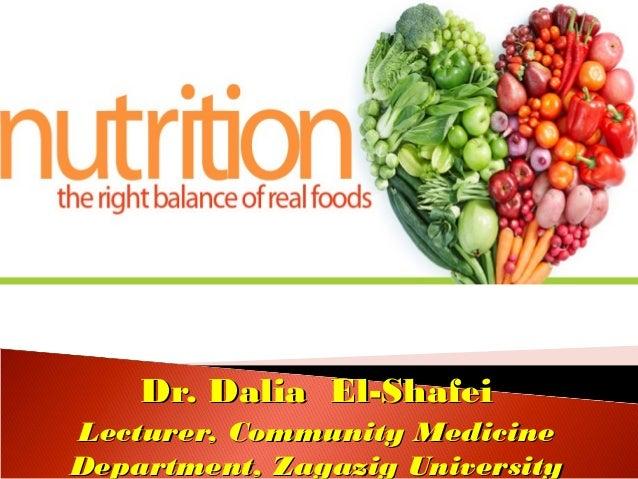 Dr. Dalia El-ShafeiDr. Dalia El-Shafei Lecturer, Community MedicineLecturer, Community Medicine Department, Zagazig Univer...