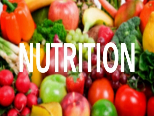 DEFINITION NUTRITION: It is the study of food and health, it is the science and centers in foods, their nutrients and othe...