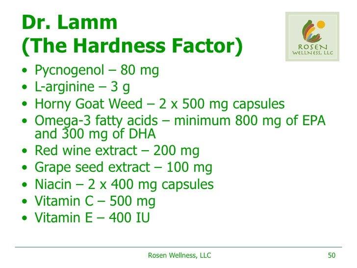 how much l arginine for erectile dysfunction