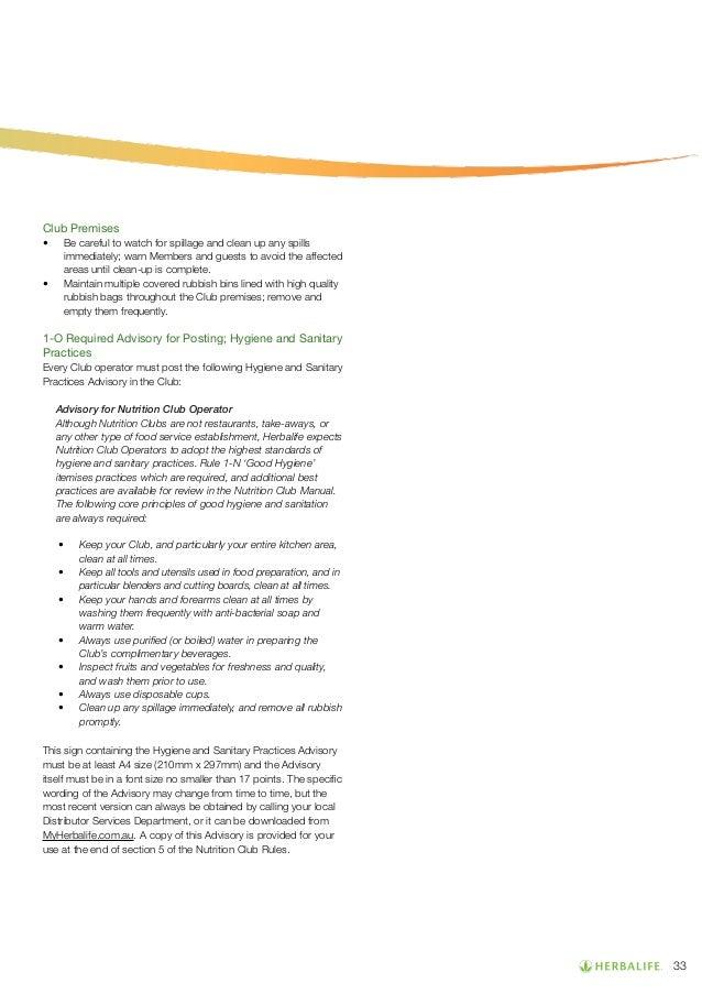 herbalife career manual