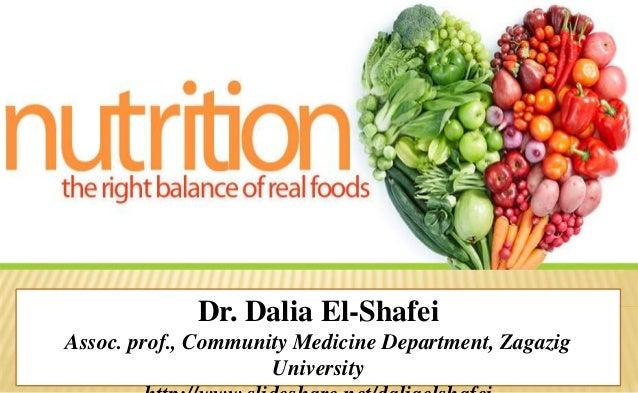 Dr. Dalia El-Shafei Assoc. prof., Community Medicine Department, Zagazig University