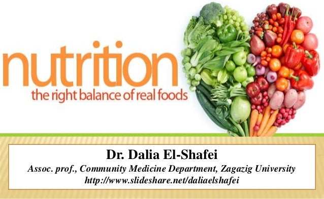 Dr. Dalia El-Shafei Assoc. prof., Community Medicine Department, Zagazig University http://www.slideshare.net/daliaelshafei