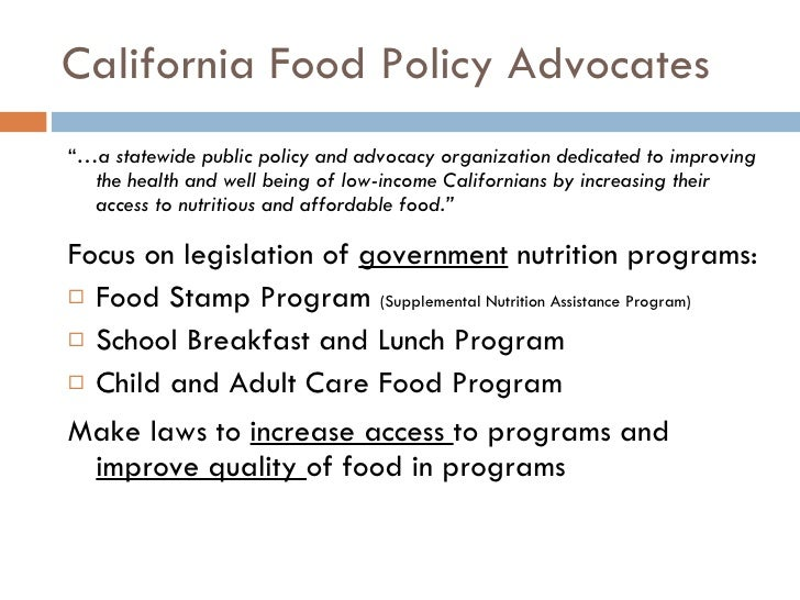 the role of the legislation in making a policy on advocacy for obesity Public policy to prevent childhood obesity,  policy, and discuss the important role pediatric  key words  childhood obesity, obesity policy, policy, public health policy  introduction  childhood overweight and obesity prevalence rates in the united states are steadily increasing.