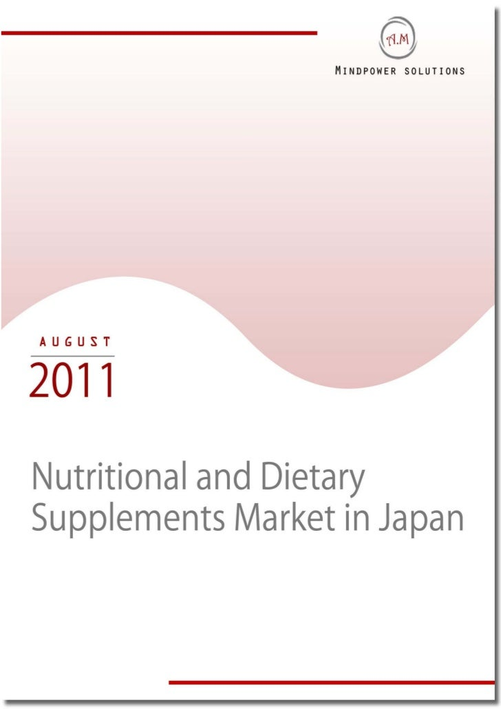 TABLE OF CONTENTS1.     Global Nutrition and Dietary Supplements Industry1.1.   Industry Overview1.2    Distribution Chann...