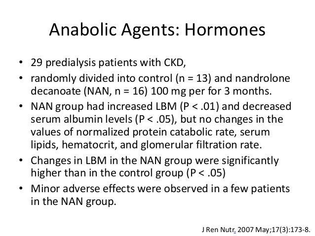 nandrolone hematocrit