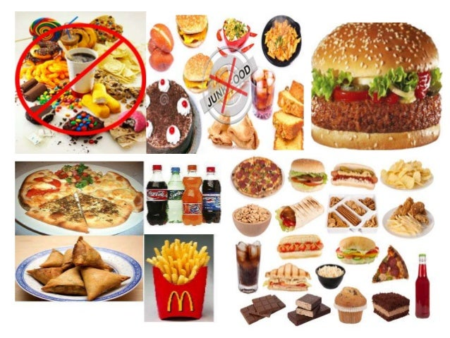 nutritional facts about junk foods