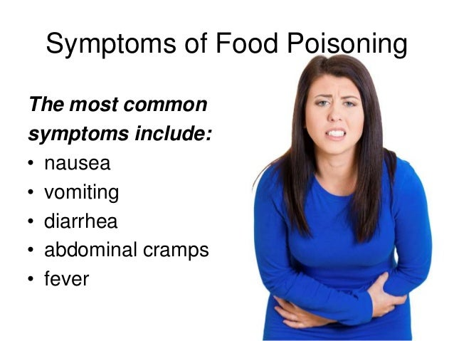 Food Poisoning And Bloating