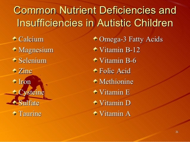 Naturopathic Interventions in the Holistic tx of Autism