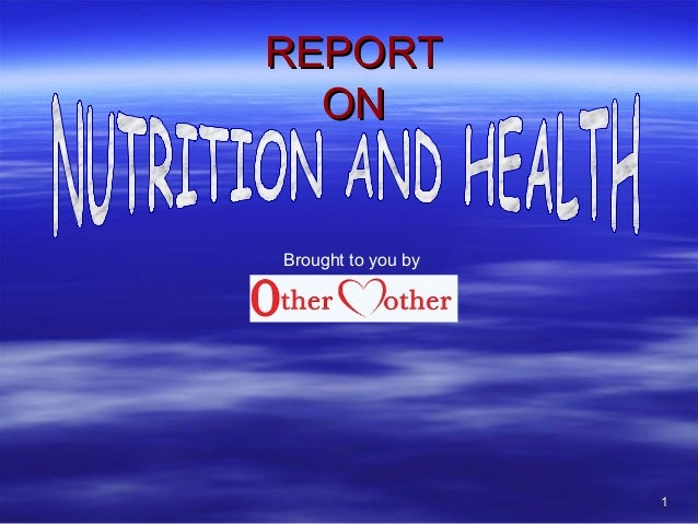11 REPORTREPORT ONON Brought to you by
