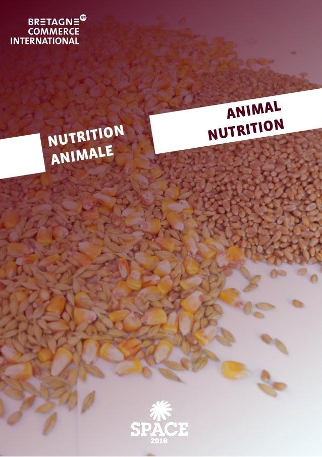 NUTRITION ANIMALE ANIMAL NUTRITION
