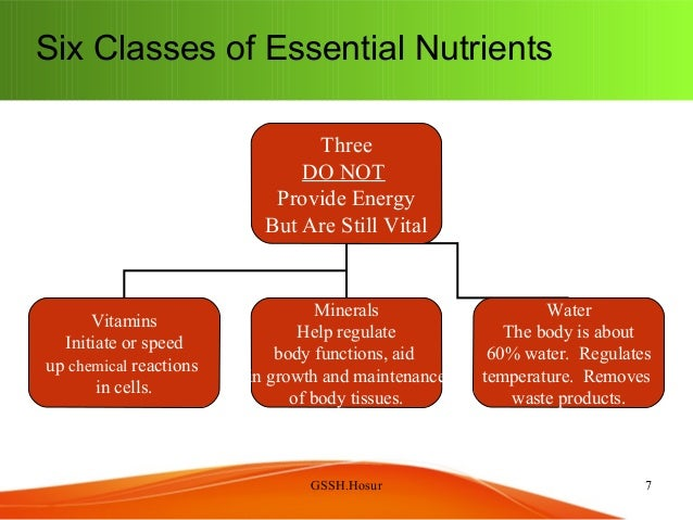 Nutrition class for nurses general