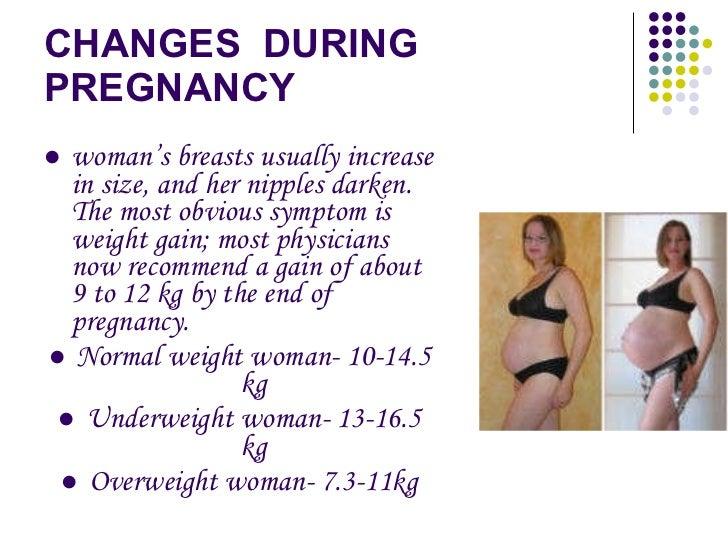 breast enlargement during pregnancy