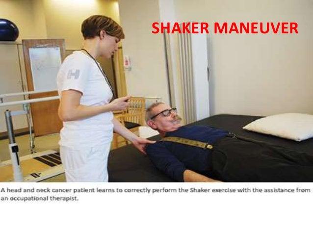 92 SHAKER MANEUVER