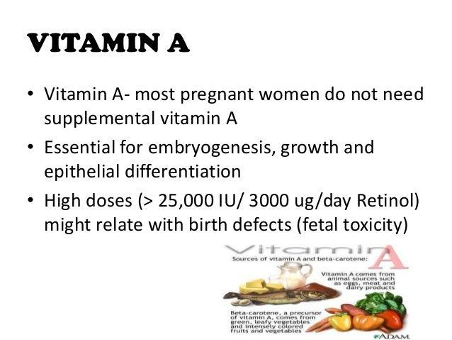 Food High In Vitamin A Ug