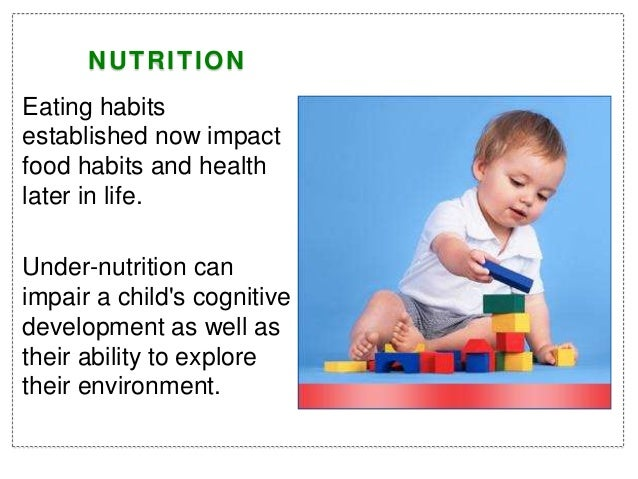 Nutrition for toddlers Slide 2