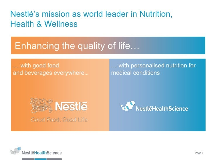 nestle are leader in nutrition health and wellness Nestlé neslac – nutritious milk for growing kids the launch underlines nestlé india's resolve to build child nutrition as yet another strong pillar to propel future growth, and continue to be recognized as the leader in nutrition, health & wellness.