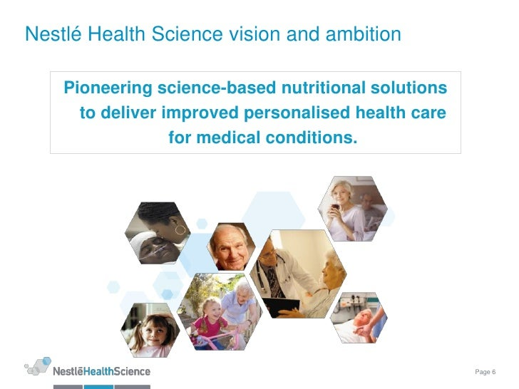 Nutrition in health science