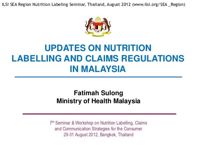 food policy in malaysia Informationonfoodlabelingrequirementsinmalaysia 1|page informationonfoodlabelingrequirementsinmalaysia author: carolyn loong (lecturer, ucsi university.