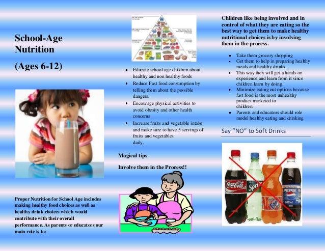 nutrition pamphlet