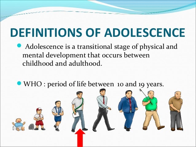 Adolescence:Adolescence: The Vulnerable LifeThe Vulnerable Life StageStage Big changes: Biological Boys—get tall, lean, ...