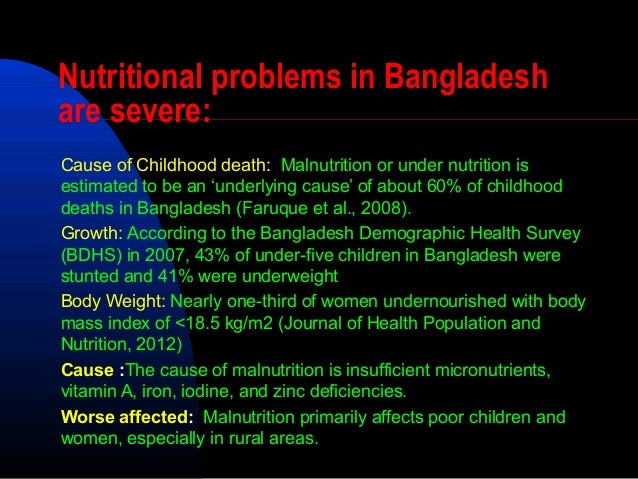 food problem in bangladesh This is a blog which deals with public health problems and prospects of bangladesh adulterated food: a serious public health problem in bangladesh.