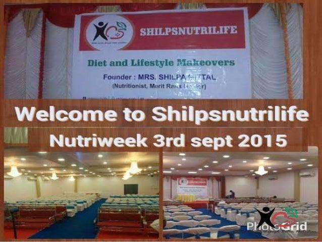 Shilpsnutrilife Nutriweek  3rd sept 2015