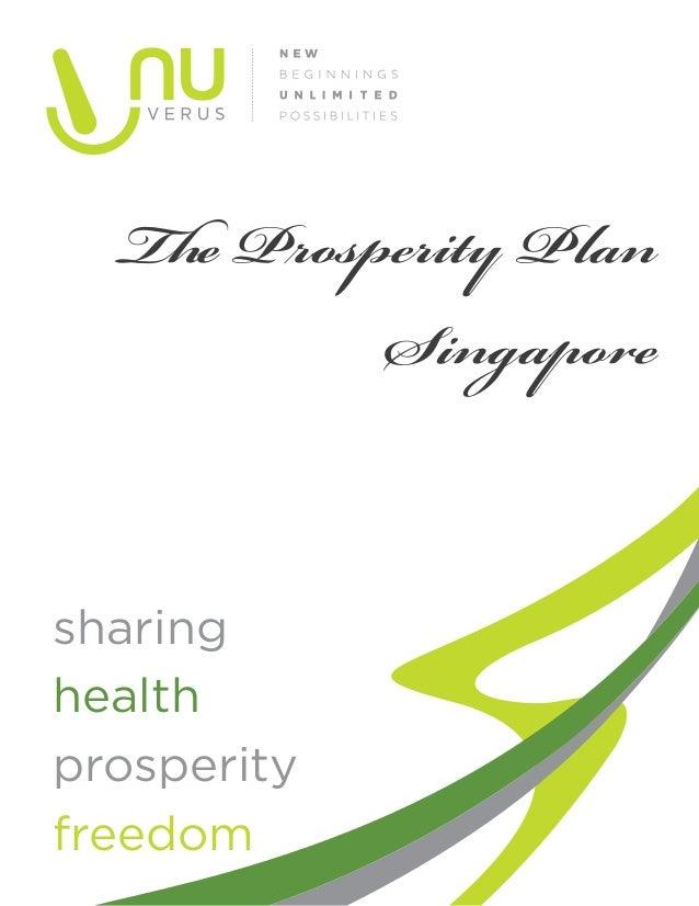 The Prosperity PlanSingaporesharinghealthprosperityfreedom