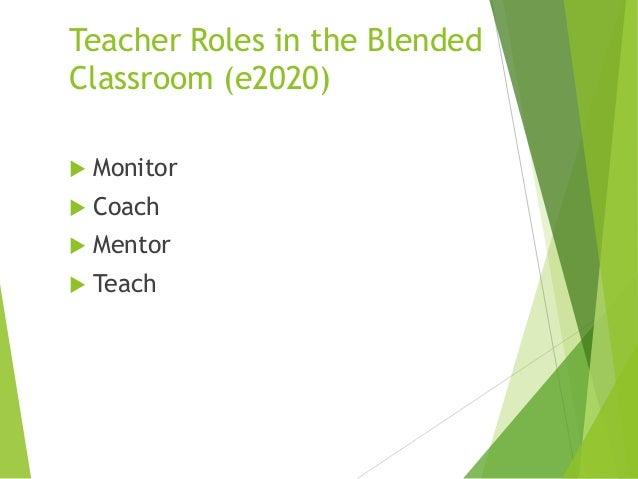 Online Instructor Roles