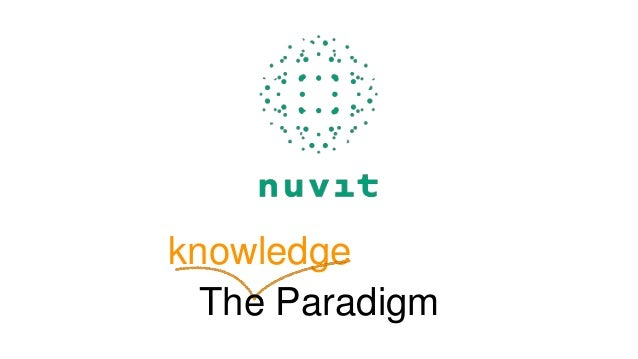 knowledge The Paradigm