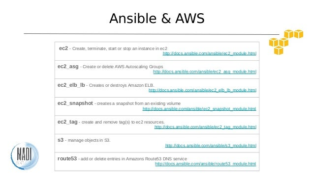 Ansible S3 Tags