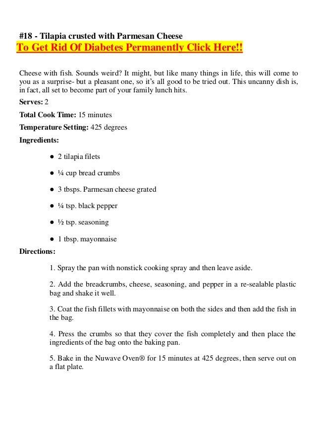 Diabetes Ebook Nuwave Oven Cookbook 101 Incredible Recipes