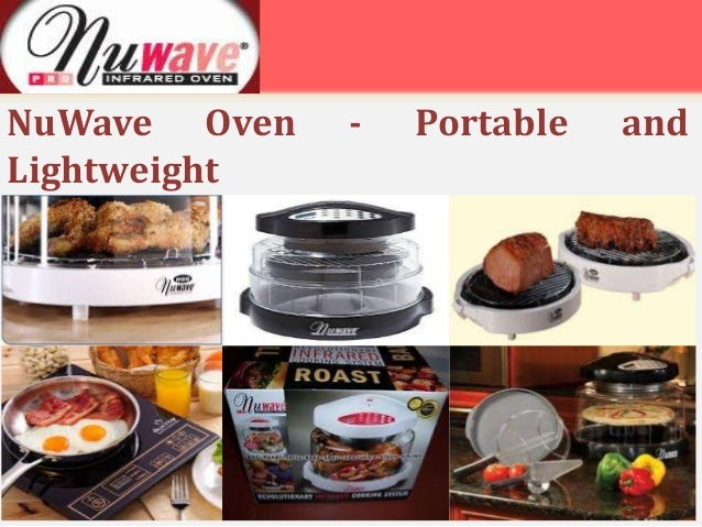 nuwave oven lightweight portable and
