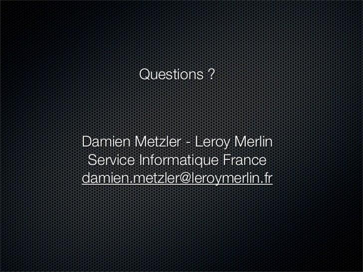 Nuxeo Webengine Etude De Cas Leroy Merlin