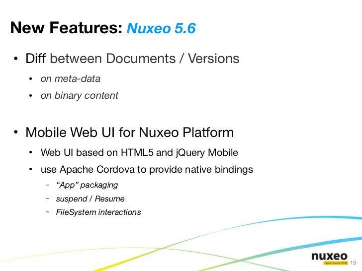 Nuxeo Roadmap June 2012