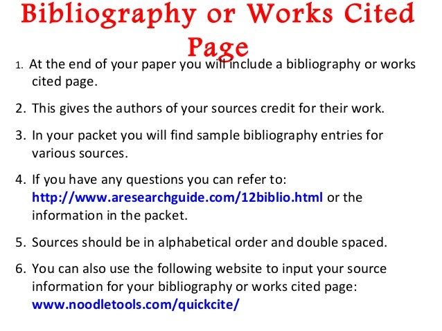 Bibliographies写作 APA、MLA及CMS格式下Annotated