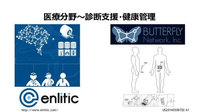 9 医療分野~診断支援・健康管理 US20140300720 A1http://www.enlitic.com/