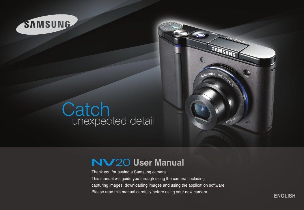 samsung camera nv20 user manual rh slideshare net samsung camera user manual download samsung camera user manual download