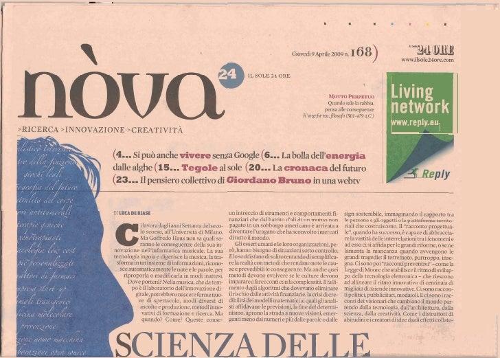 I                       Living                       network                       www.replv.eu     DI LUCA DE BIASE      ...