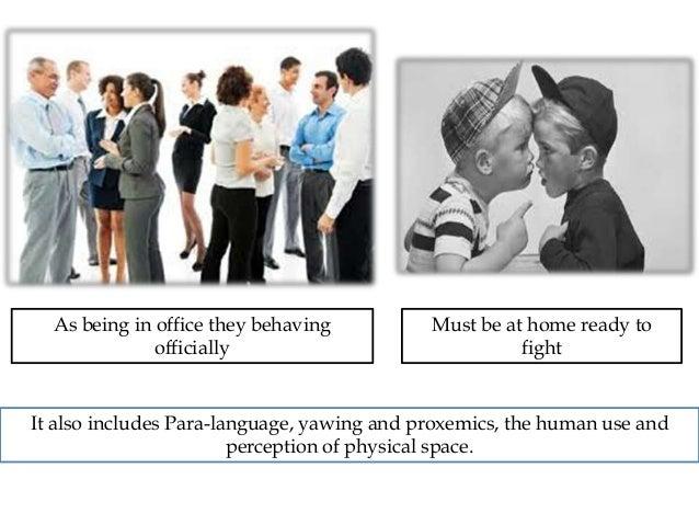 non verbal communication haptics