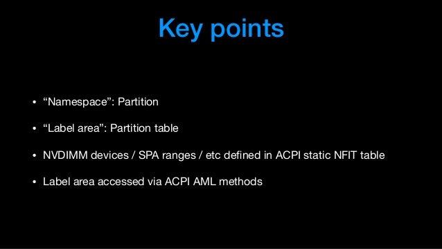 XPDDS18: NVDIMM Overview - George Dunlap, Citrix