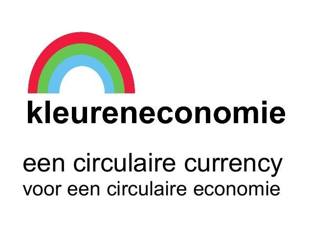 circulaire currency voor een circulaire economieeen circulaire currencyvoor een circulaire economie
