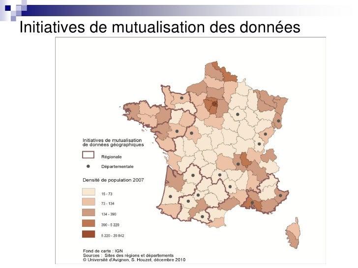 Initiatives de mutualisation des données