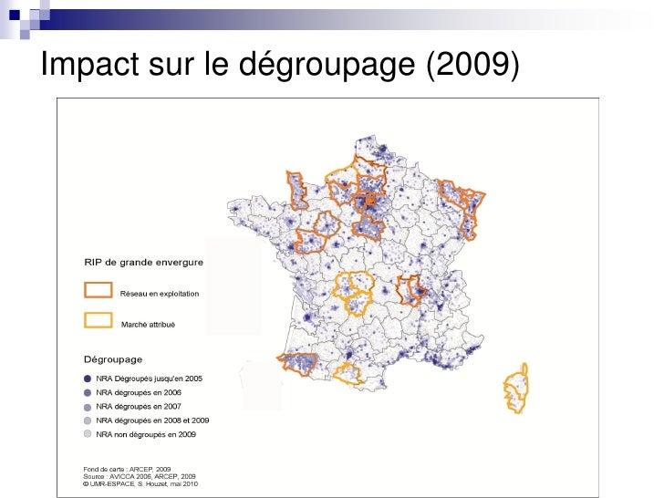 Impact sur le dégroupage (2009)